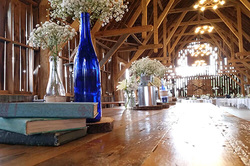 wedding reception at Shanahan's Barn