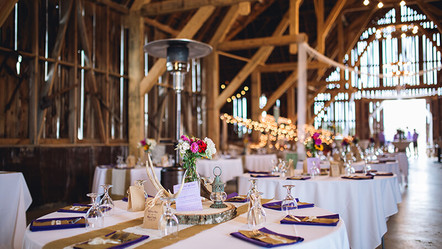 private party at historic barn in Charlevoix